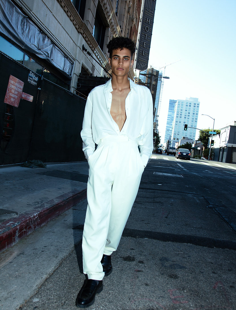 LA Model Angel Parmar is part of MOOD winter/ spring issue photograph by Edwin J Ortega and anthony Giovanni