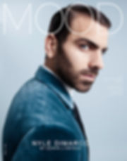 model ANTM winner Nyle Dimarco for MOOD Magazine Photo by Edwin J Ortega