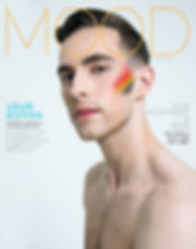USA Olympian FIgure Skating Medalist Adam Rippon photographed for MOOD Magazine by Anthony Giovanni and Edwin J Ortega
