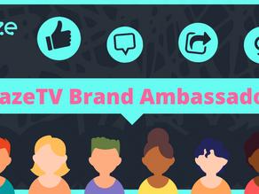 【#GazeTVBounty Program #2】GazeTV Brand Ambassador