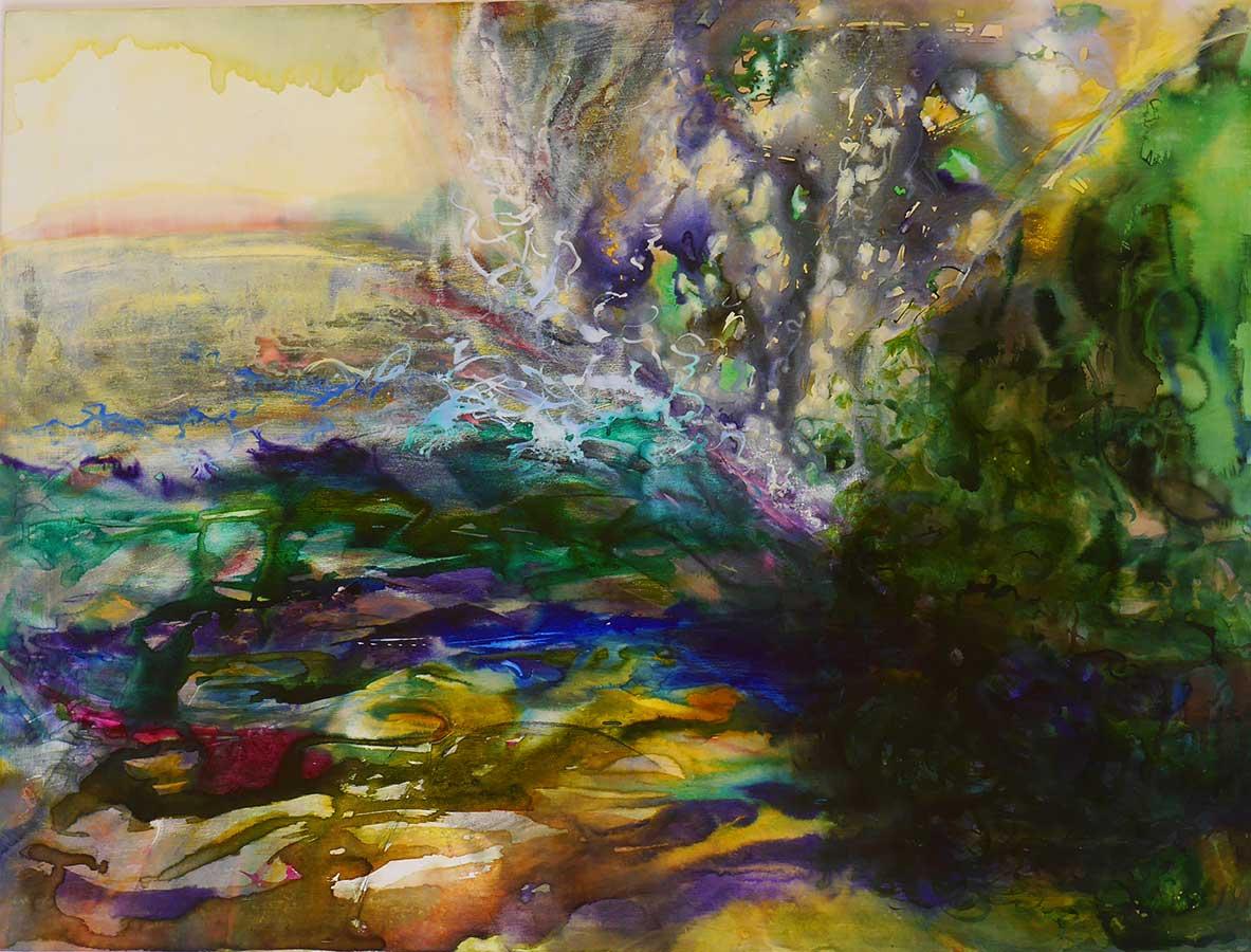 Abstract New Zealand Art