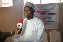 IOC Vice President, Mr. Habu Gumel