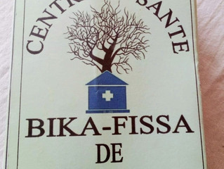 Medical Clinic Ground Breaking!   Bolokada decided the name will be: Centre De Sante Bika-Fissa Moro
