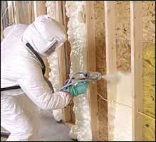Greg the roofer spray insulation