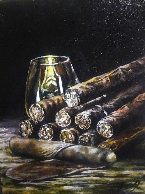 """Scotch & Handrolled Cigars"""