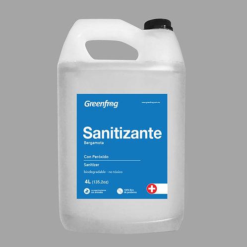 Sanitizante con Peróxido 4 Litros