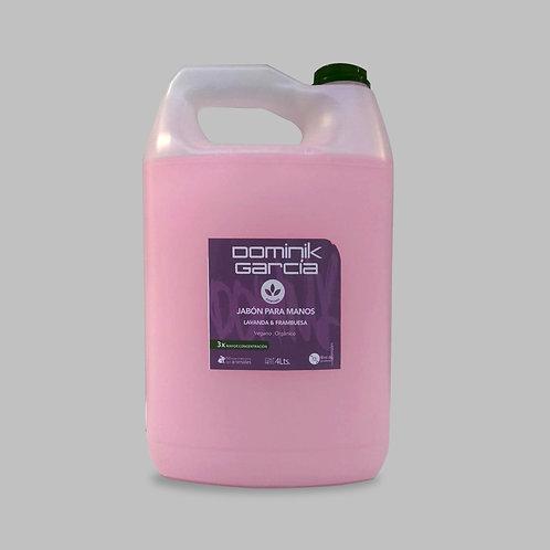 Jabón Líquido para manos Lavanda Frambuesa 4 L