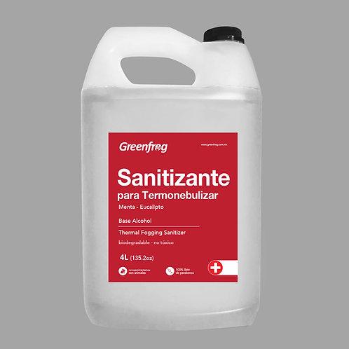 Sanitizante para Termonebulizar 4 Litros
