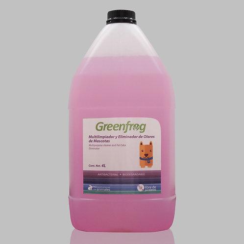 Multilimpiador y eliminador de olores para Mascotas 4 lt