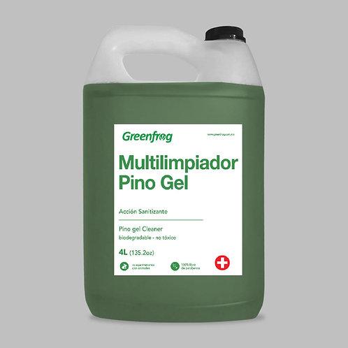 Multilimpiador Desinfectante Pino Gel 4 lt