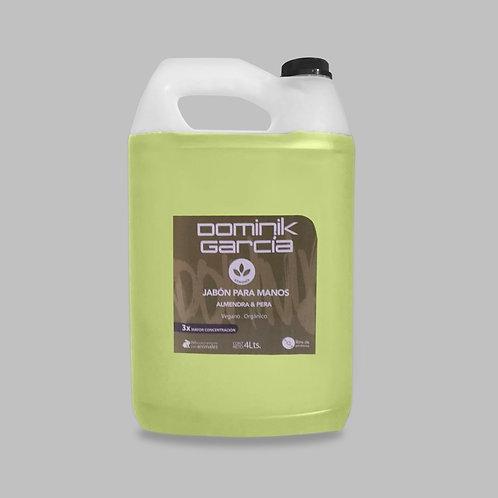 Jabón Líquido para manos Almendra Pera 4 L