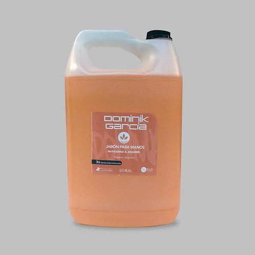 Jabón Líquido para manos Mandarina Jengibre 4 L