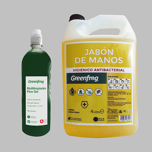 Pino Gel & Jabón de manos Antibacterial LemonFresh