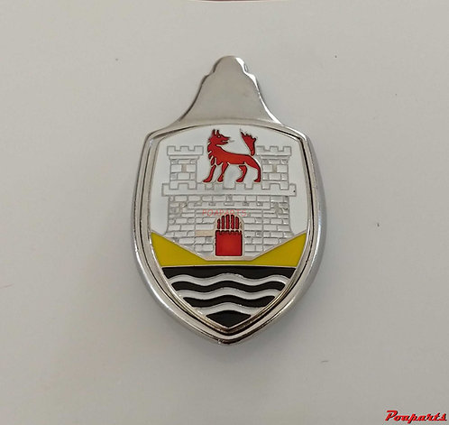 Emblema brasao capo fusca wolfsburg castelo branco