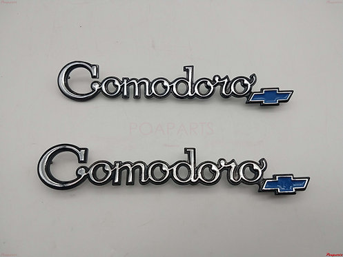 Par Emblema Lateral Opala Caravan Comodoro 75 - 79