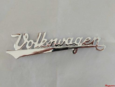 Emblema Manuscrito Volkswagen