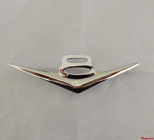 Emblema v8 metal cromado f1 f100 hotrod