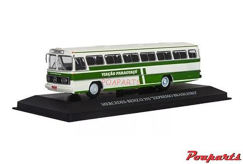 Miniatura Ónibus Mercedes Benz O355 Viação Paraguaçu Salvat