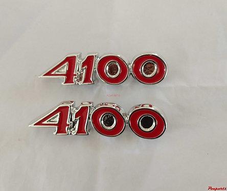 Par emblema 4100 opala caravan paralama