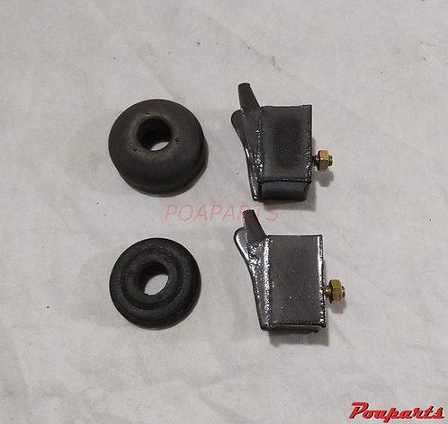 Kit coxim motor e caixa câmbio Fiat 600