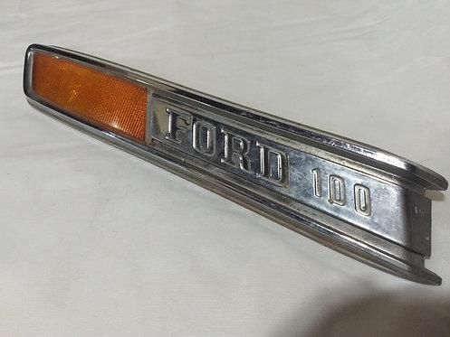 Emblema capô ford f100
