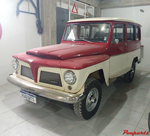 FORD RURAL 1975 6 CILINDROS 4X4