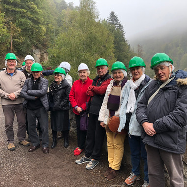 Visite de la centrale EDF de Versilhac