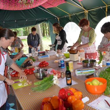 Atelier cuisine chez Tatie Dany