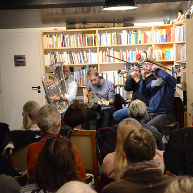 Concert de jazz à L'Arbre vagabond : Nolan Spirit
