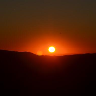 Lever du soleil au Lizieux