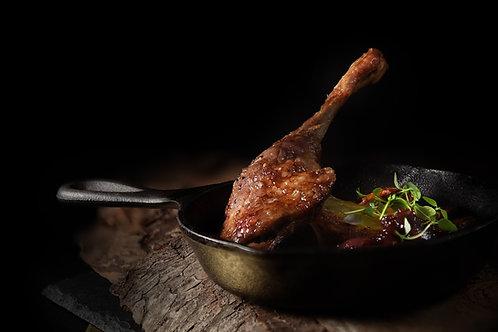Confit de cuisse de canard, environ 250g