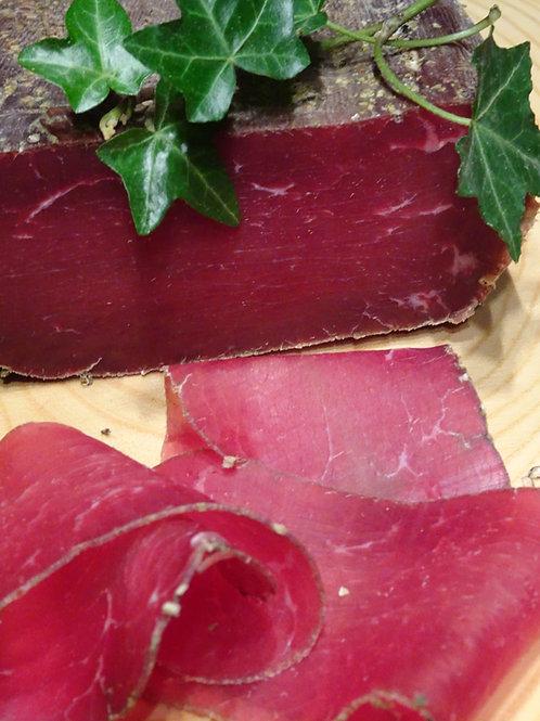 Viande séchée de daim, en morceau sous vide (150g à 200g)
