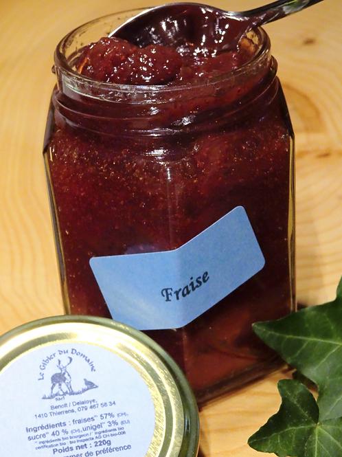 Confiture de fraises 220 g