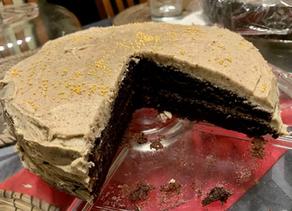 CHOCOLATE COFFEE CAKE by Nigella