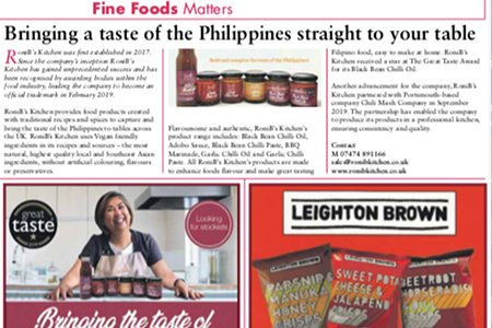 Speciality Fine Food Magazine - January 2020 issue