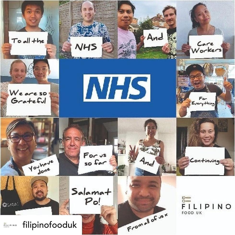 Filipino Food for NHS Staff