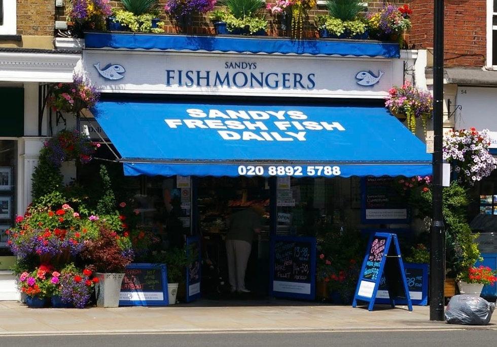 Sandy's Fishmongers in Twickenham