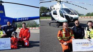 Phoenix Donates £200 To Air Ambulance