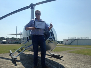 Congratulations to Greg on completing his R44 Type Rating