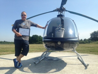 Congratulations to Nigel on completing his Cabri G2 Type Rating