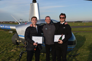 Congratulations to Jonathan and Philippe on passing on your CPL