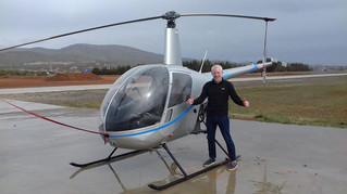 Congratulations to Craig on going solo over at Phoenix Helicopters Spain
