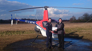 Congratulations to Marc on passing his CPL