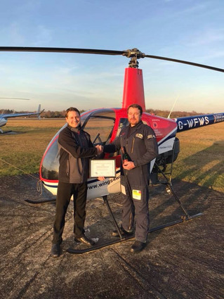 Congratulations to Cliff on passing his CPL(H)