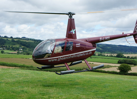 Helicopter Buzz Flight - Last Minute Deals LOS (Sunday 28th April)