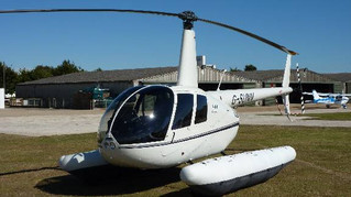 New R44 arrives for flying lessons