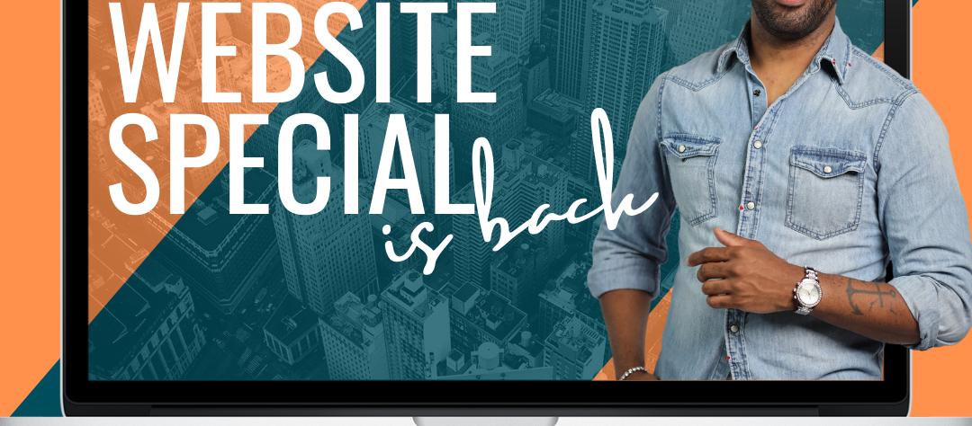 Website Special    Limited Offer