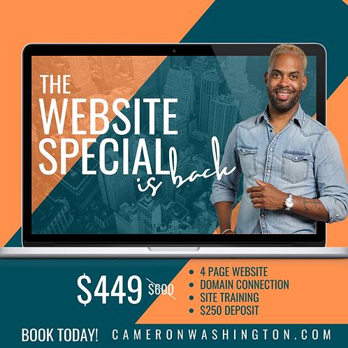 Website Special  | Limited Offer