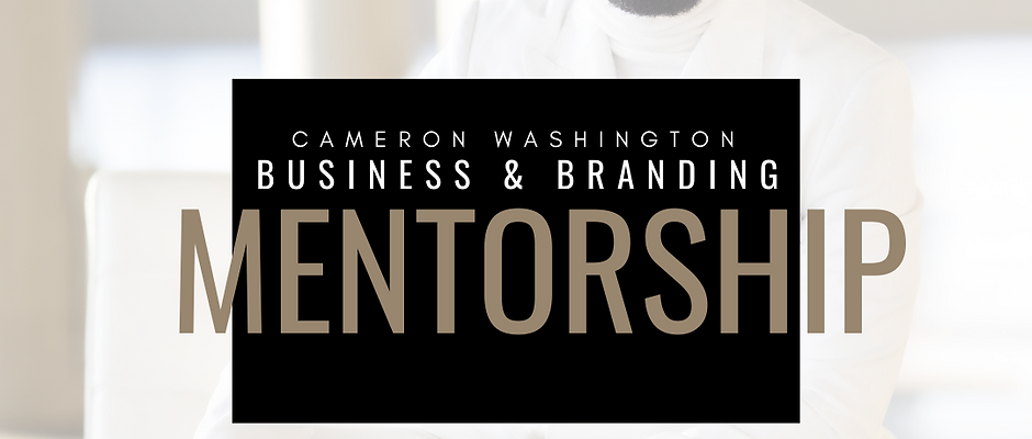 Business & Branding Mentorship Program