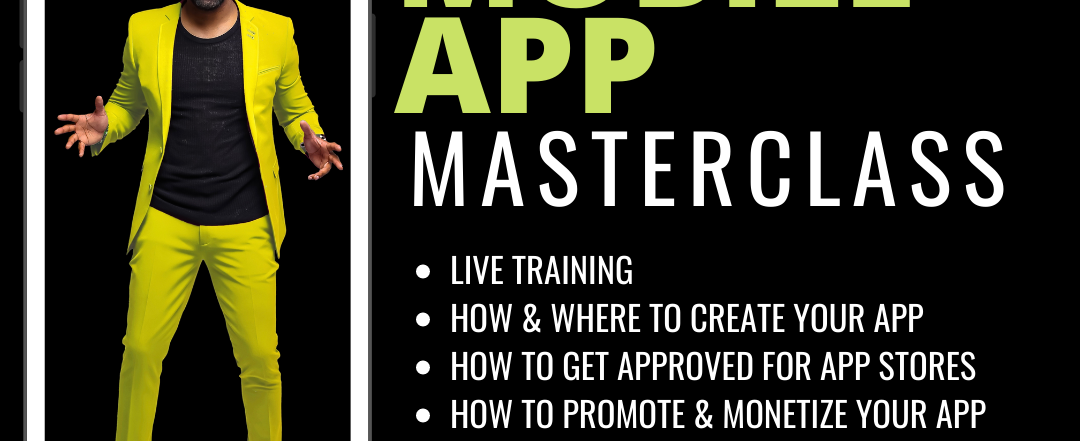 Mobile App Masterclass